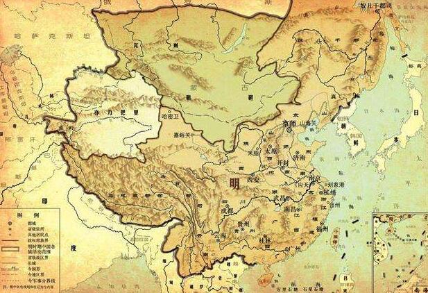 为什么明朝不想征服管理新疆?其实是没钱